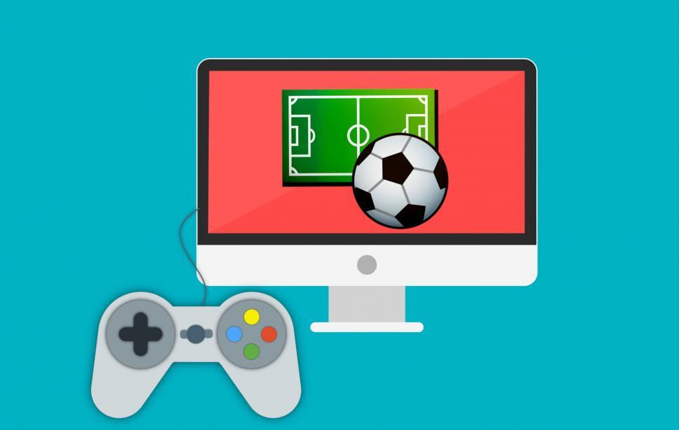 Download Free Stock Photo of game joystick
