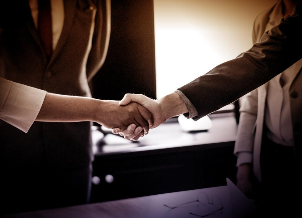 Download Free Stock Photo of Handshake - Agreement - Business Contract