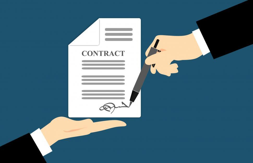 Download Free Stock Photo of Contract signature