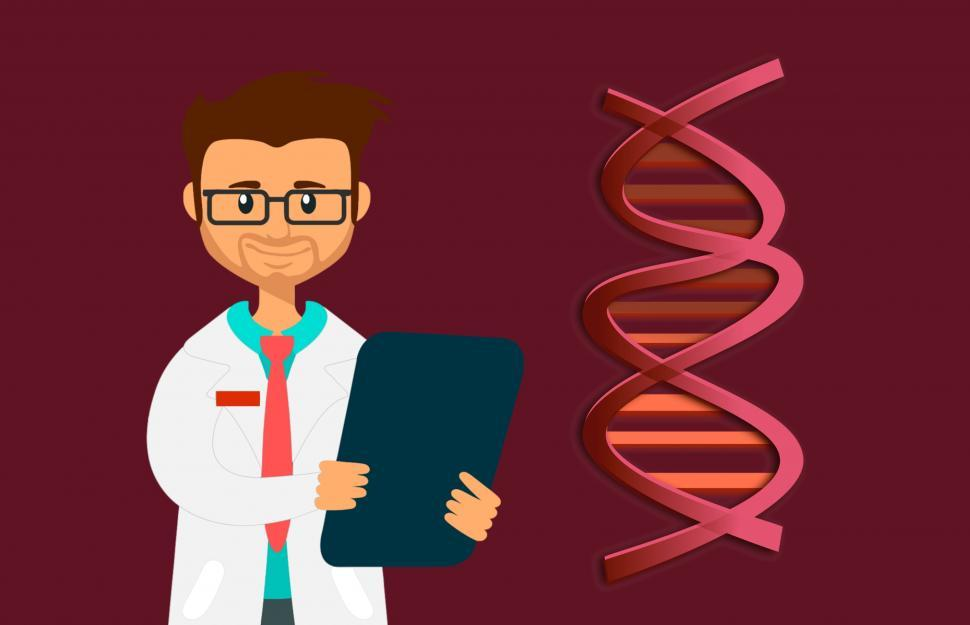 Download Free Stock Photo of DNA test