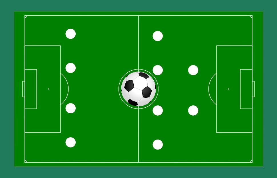 Download Free Stock Photo of Football strategy