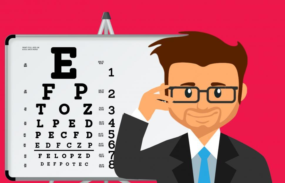 Download Free Stock HD Photo of Eye test  Online