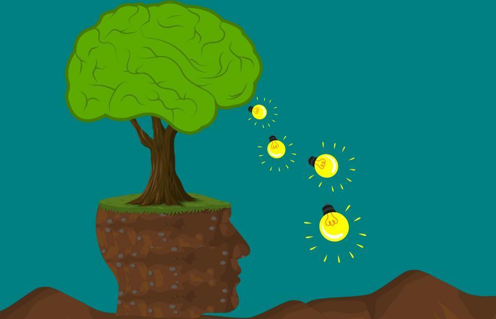 Download Free Stock HD Photo of Brain tree  Online