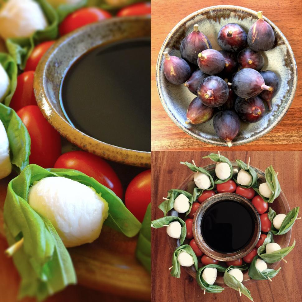 Download Free Stock Photo of Composite of Healthy Appetizers