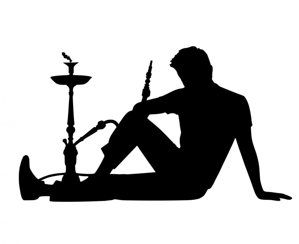 Download Free Stock HD Photo of Shisha silhouette  Online