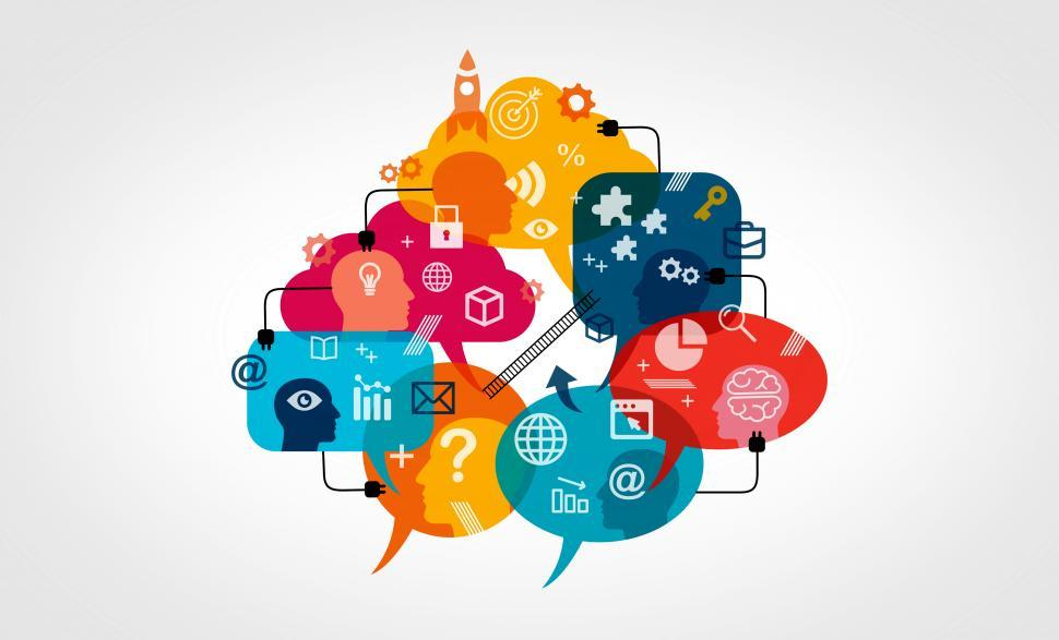 Download Free Stock HD Photo of Cloud Communications Platform as a Service - Concept Online
