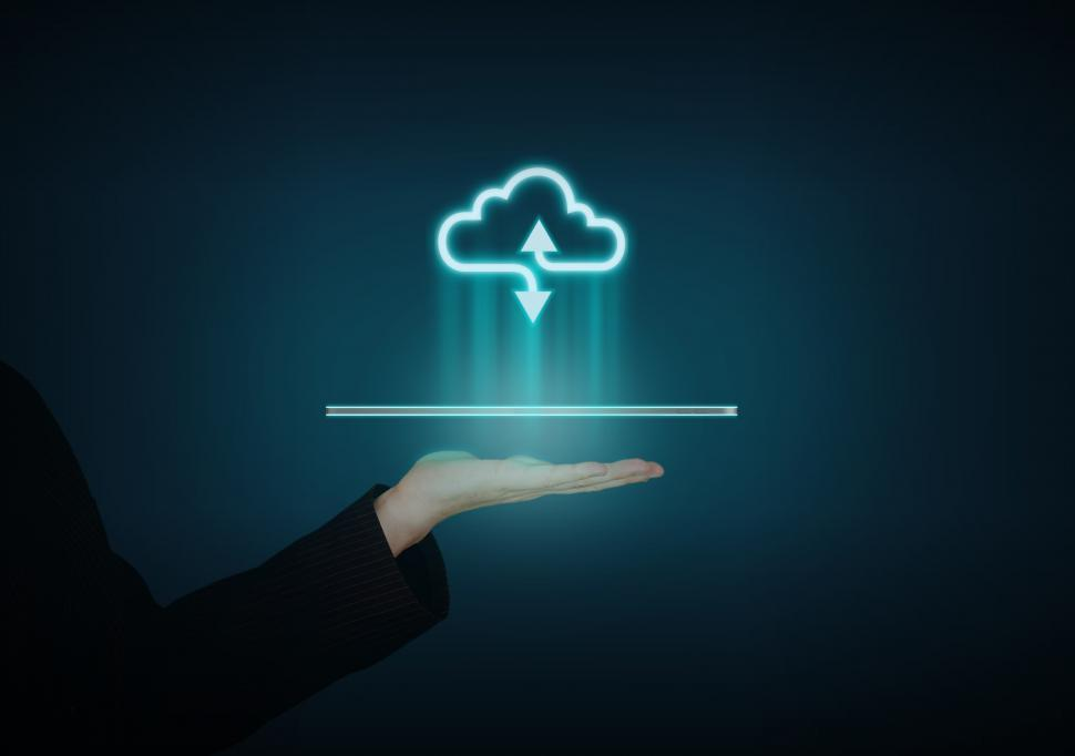 Download Free Stock HD Photo of Cloud Communications - Digital Cloud Access - Public Cloud Online