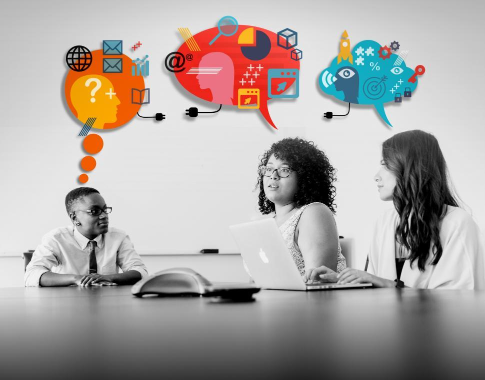 Download Free Stock HD Photo of Business Meeting - Discussing Ideas - Strategy - Options Online