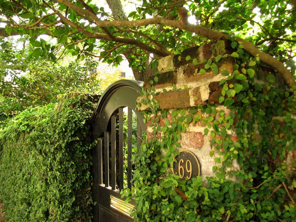 Download Free Stock HD Photo of Charleston Garden Gate Online