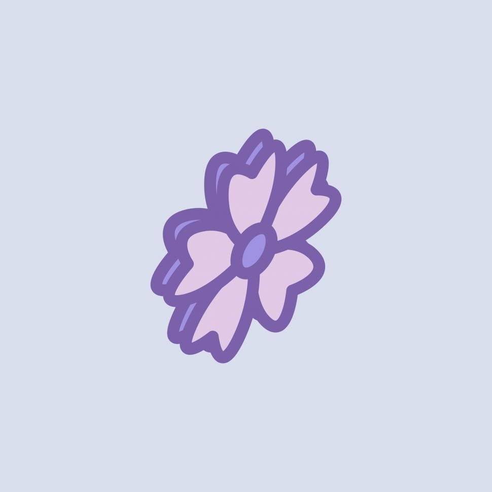 Download Free Stock HD Photo of Flower with heart shaped petals Online