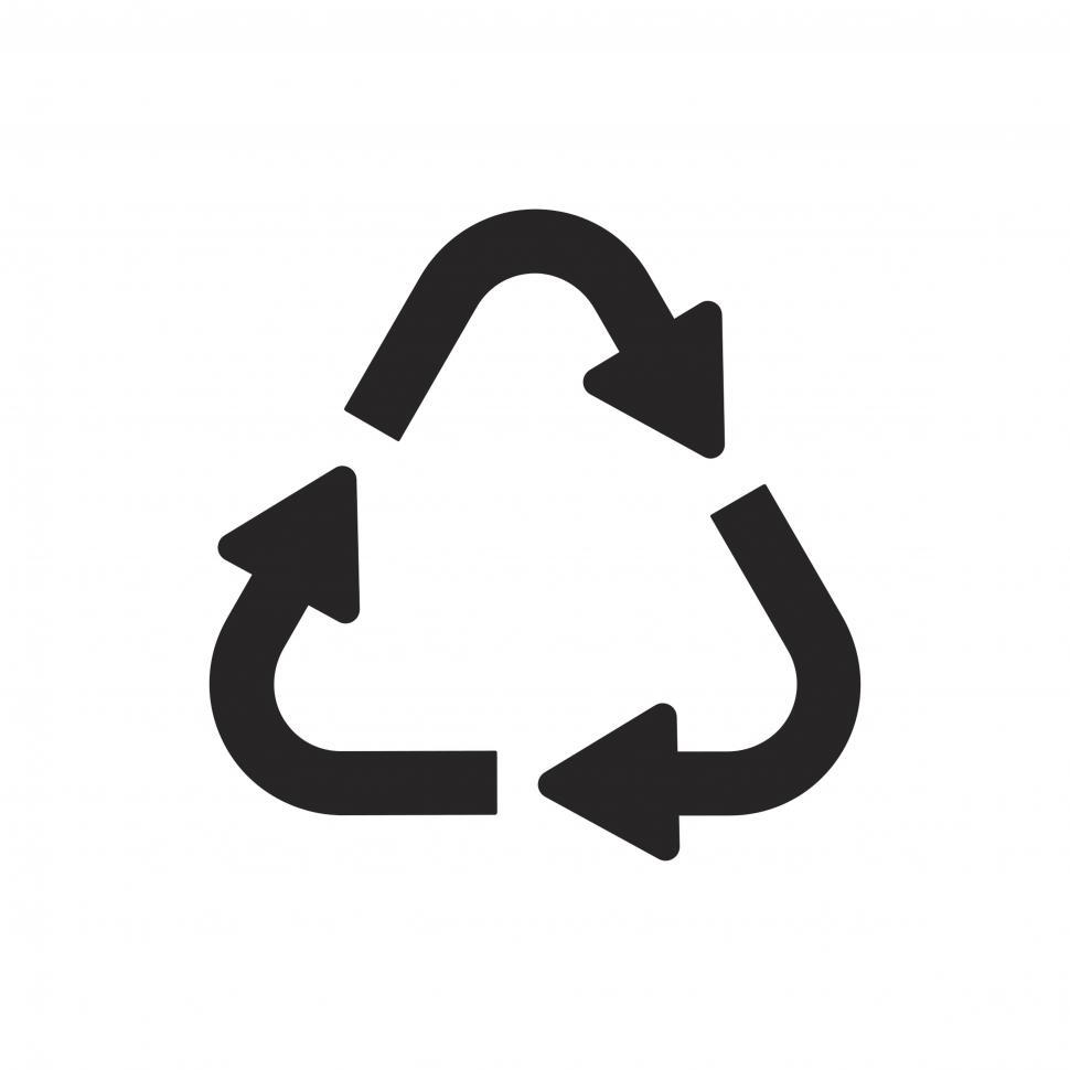Download Free Stock Photo of Recycle symbol vector