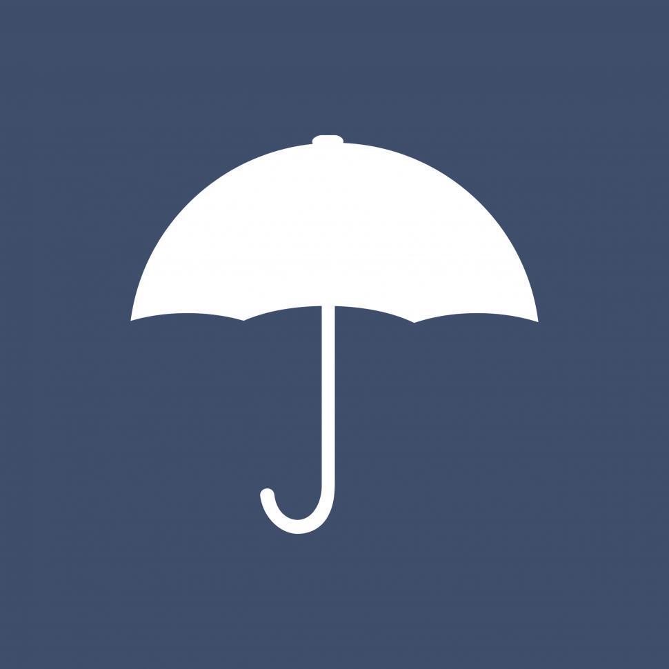 Download Free Stock HD Photo of Umbrella symbol vector icon Online