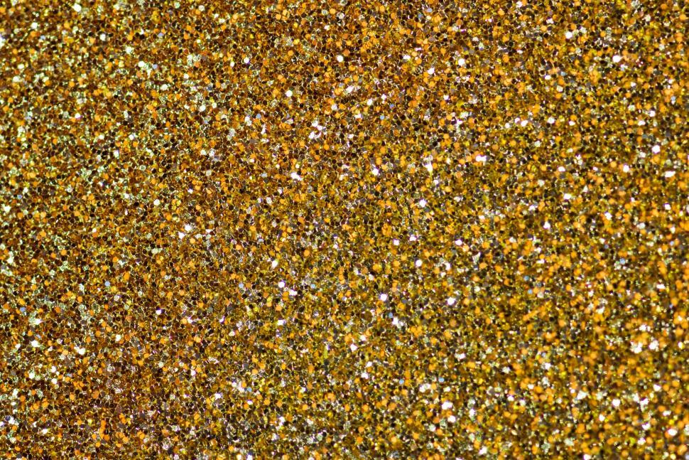 Download Free Stock HD Photo of Golden glitter sparkles Online