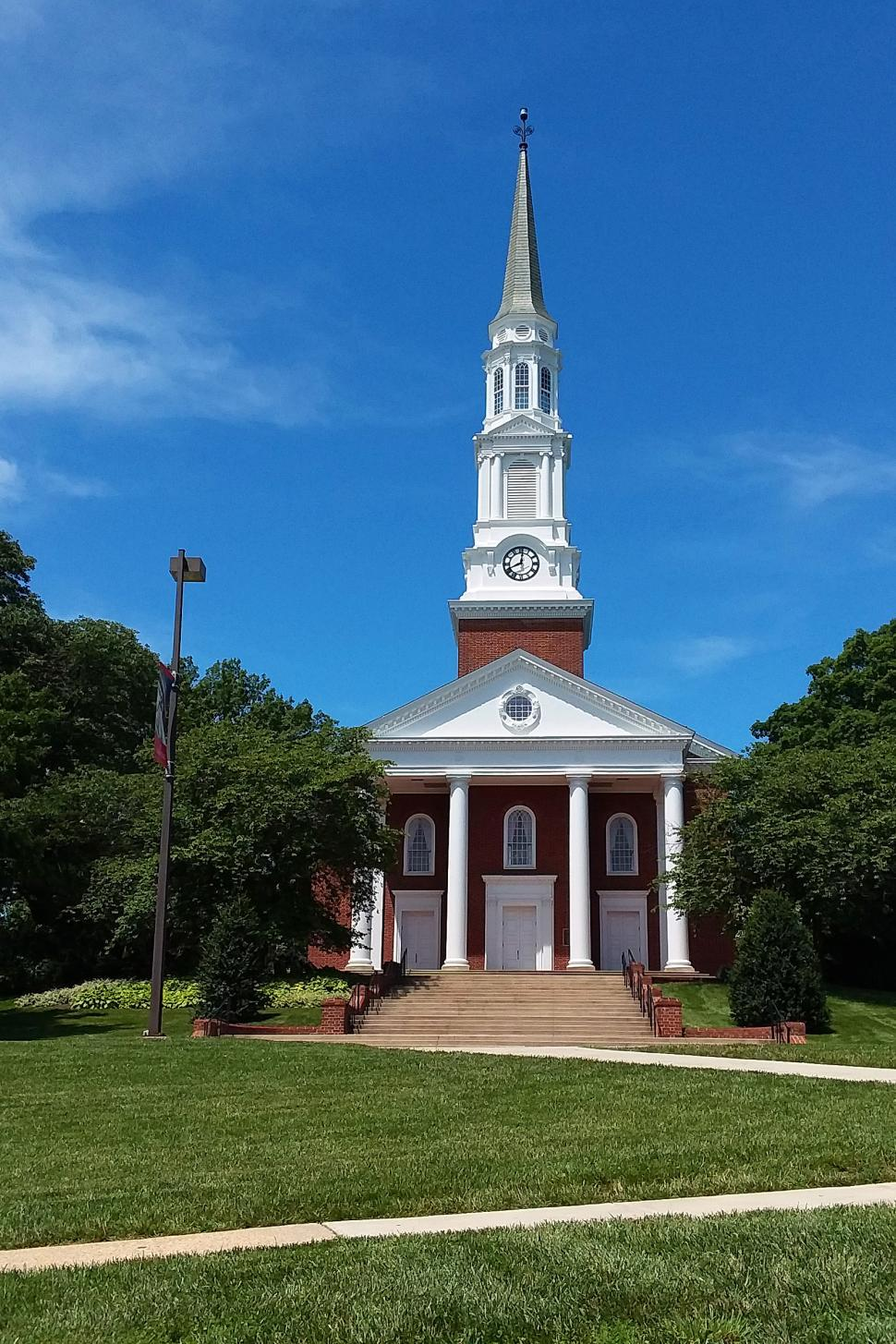 Download Free Stock Photo of Memorial Chapel At University of Maryland