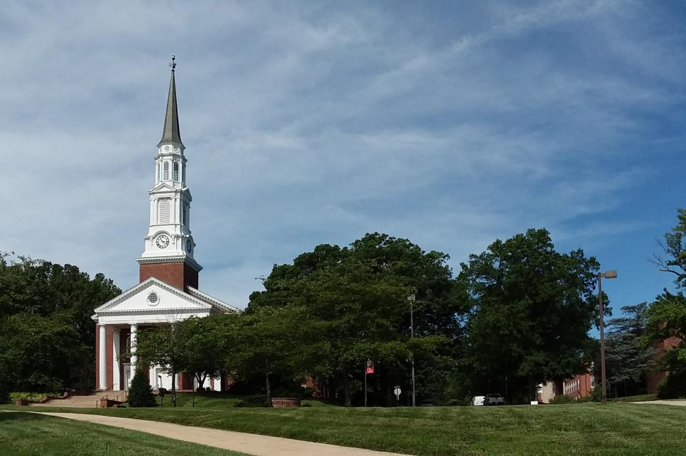 Download Free Stock Photo of University of Maryland Chapel