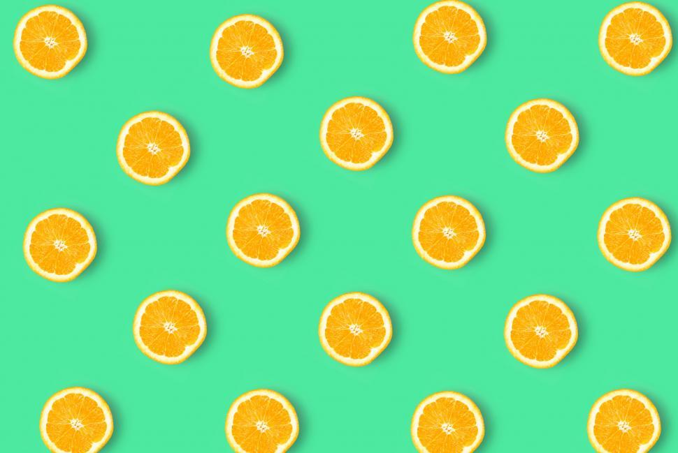 Download Free Stock HD Photo of Orange Slices - Abstract Pattern Online