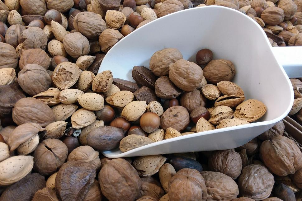 Download Free Stock HD Photo of Mixed Raw Nuts Online