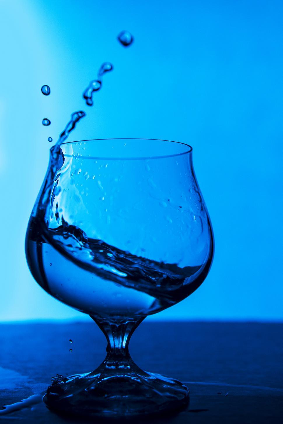 Download Free Stock Photo of Glass of Water