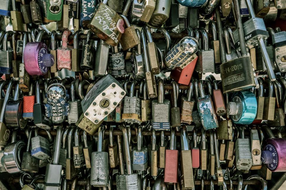 Download Free Stock HD Photo of Padlocks - Love Locks Online