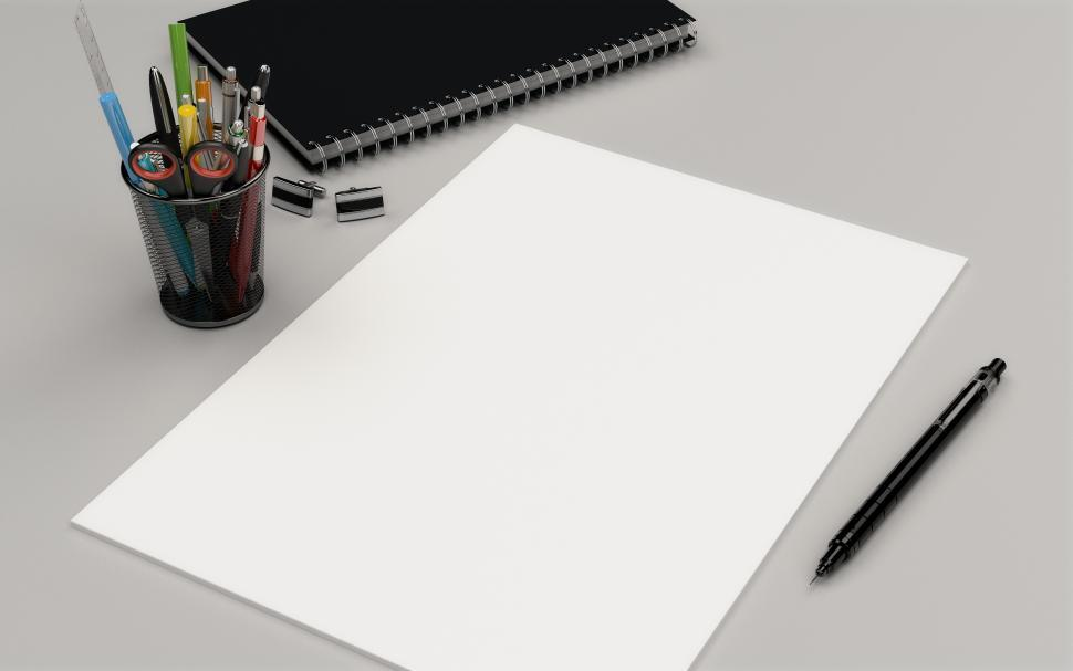 Download Free Stock HD Photo of blank paper mockup  Online