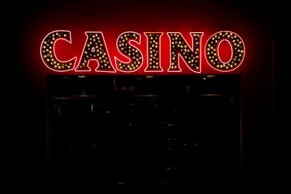Download Free Stock HD Photo of casino sign Online