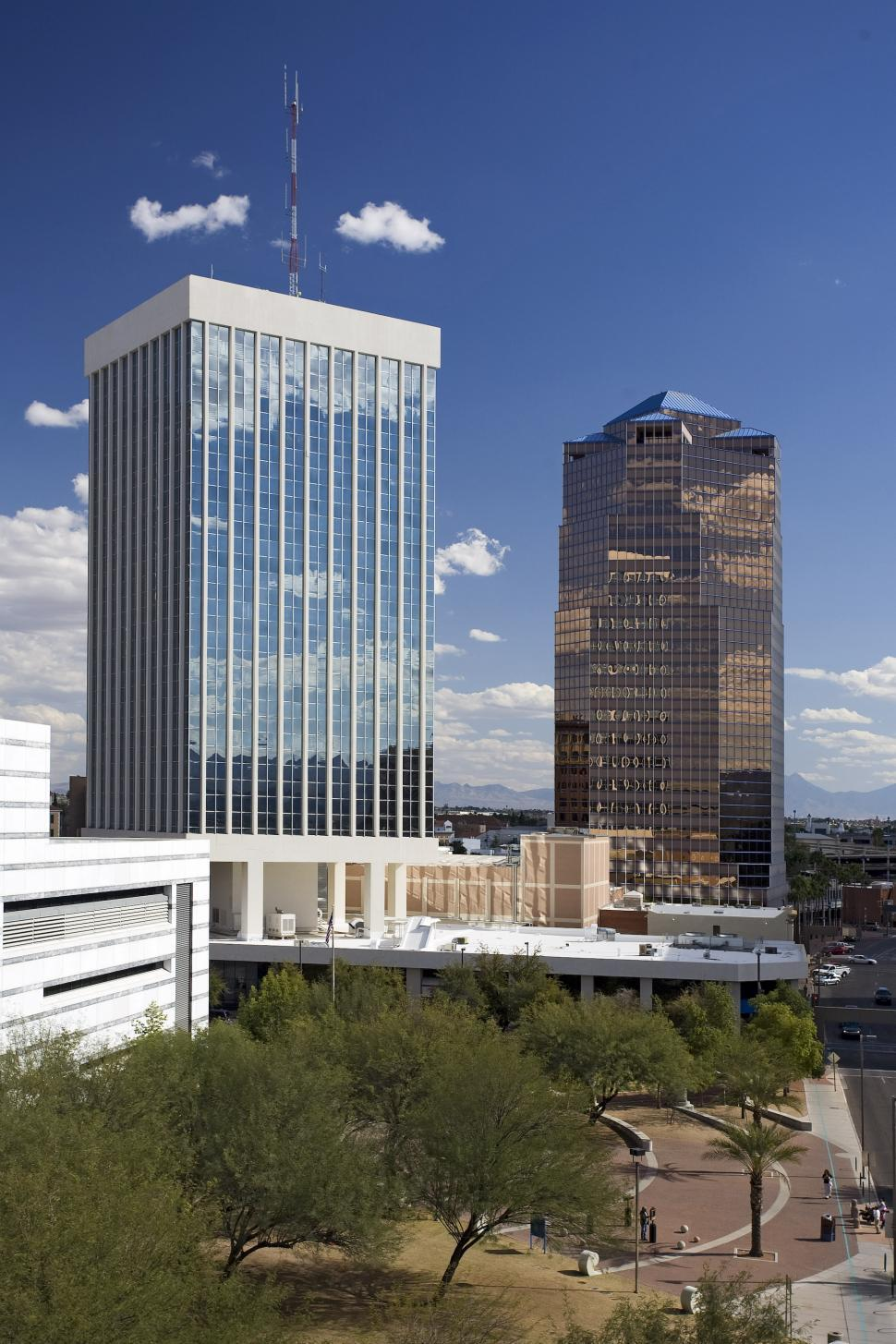 Download Free Stock Photo of Downtown Tucson