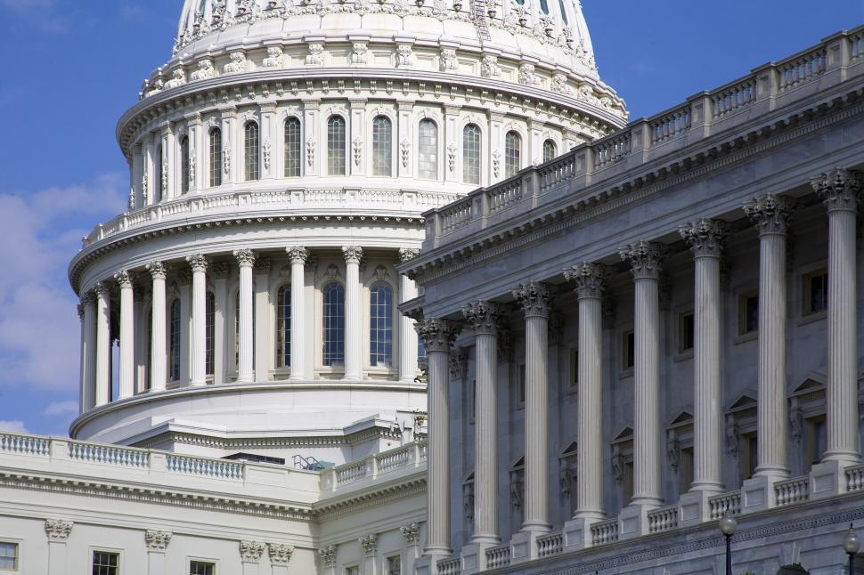 Download Free Stock Photo of US Capitol Buildings