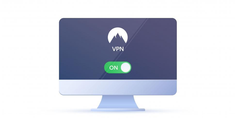 Download Free Stock HD Photo of Unlock you internet freedom with cyber security software  - Desktop Online