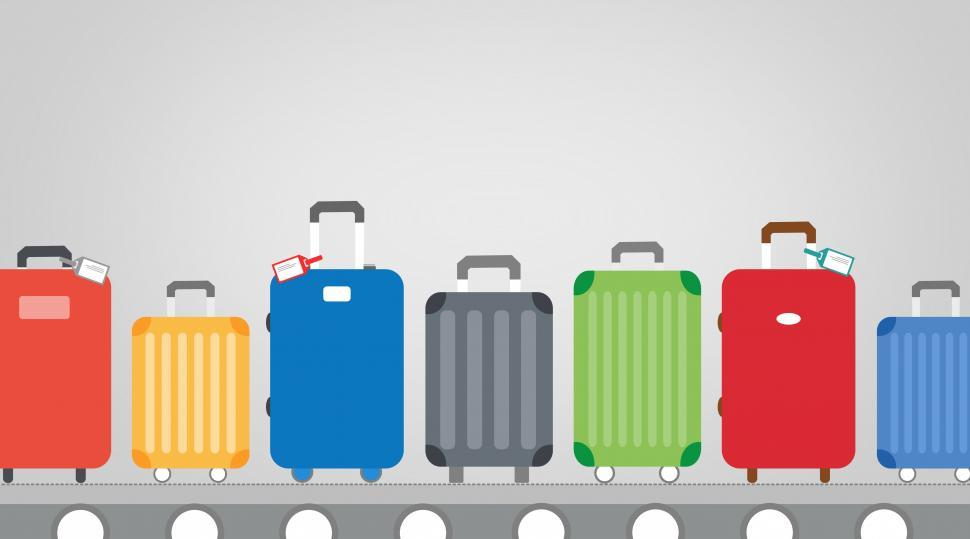 Download Free Stock Photo of Baggage Claim At Airport Terminal - Travel and Tourism Concept