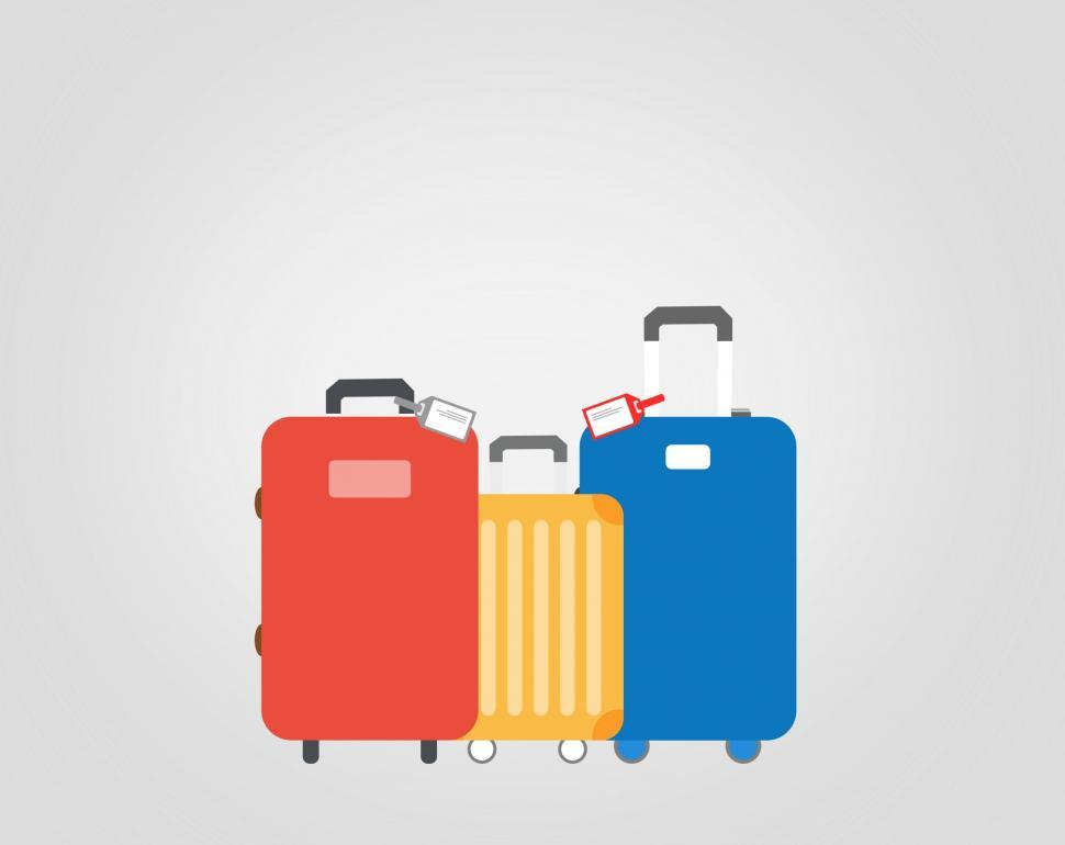 Download Free Stock Photo of Travel Suitcases - Travel and Tourism