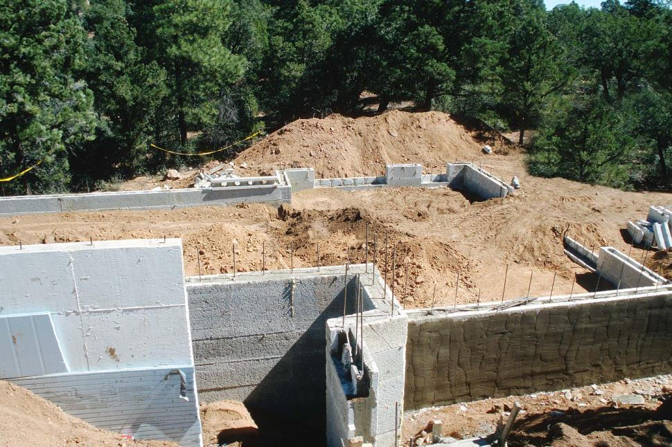Download Free Stock HD Photo of House under construction - foundation Online