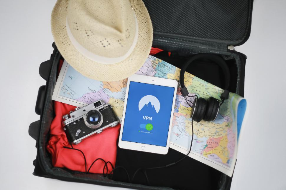 Download Free Stock HD Photo of VPN service for travelling   Online