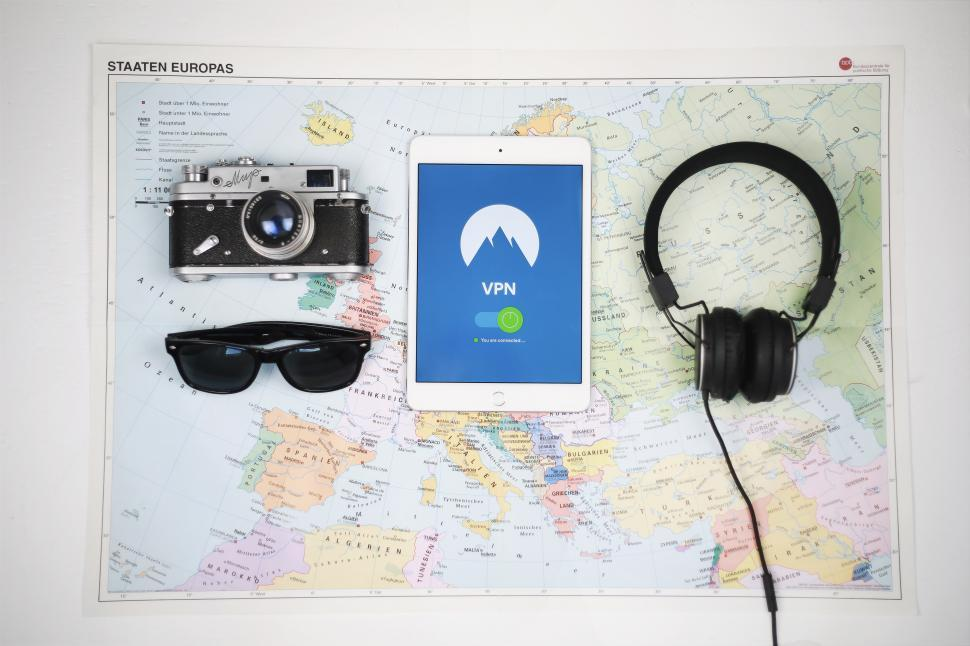 Download Free Stock Photo of VPN service for traveling - Accessories