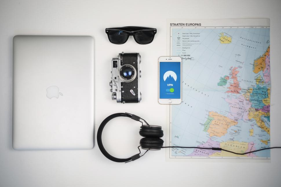 Download Free Stock HD Photo of VPN service for travelling - Kit for travel Online