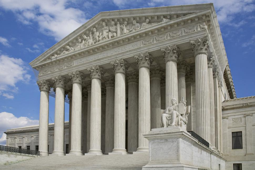 Download Free Stock Photo of US Supreme Court Building 2