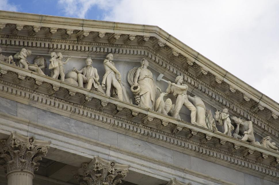 Download Free Stock HD Photo of Frieze at US Capitol Online