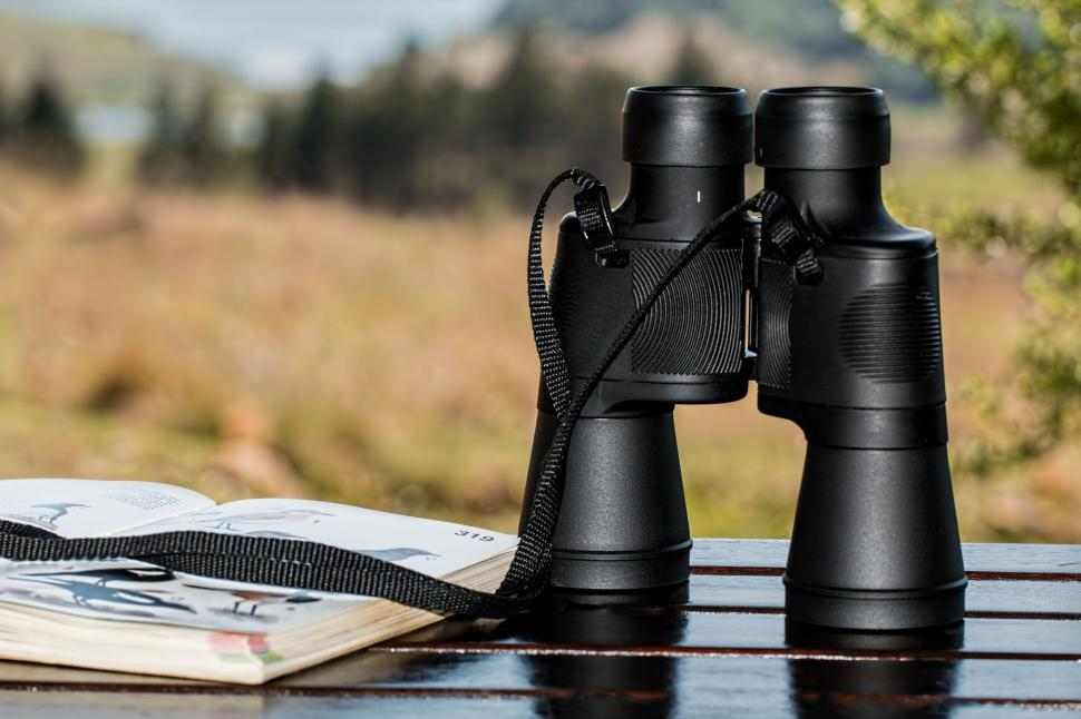 Download Free Stock Photo of binoculars birdwatching spy glass spying spy watch look see observe lenses spyglass observation telescope looking horizon sightseeing outdoors vacation tourist travel relax pastime sunshine summer landscape vision optical