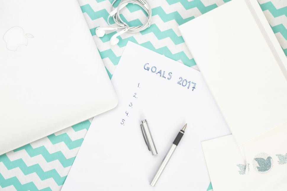 Download Free Stock Photo of New Year Resolution - Goals