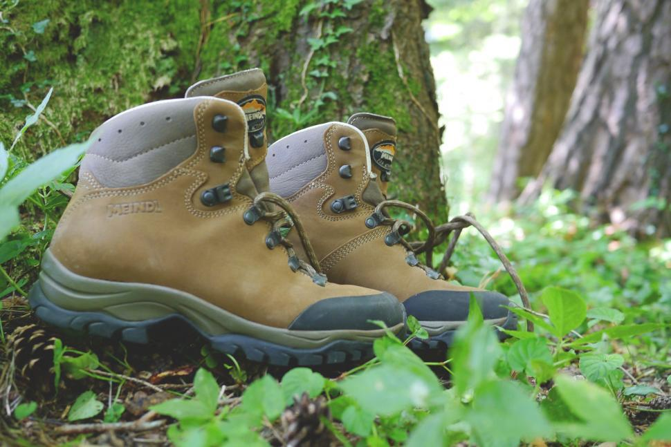 Download Free Stock HD Photo of Mountaineering shoes Online