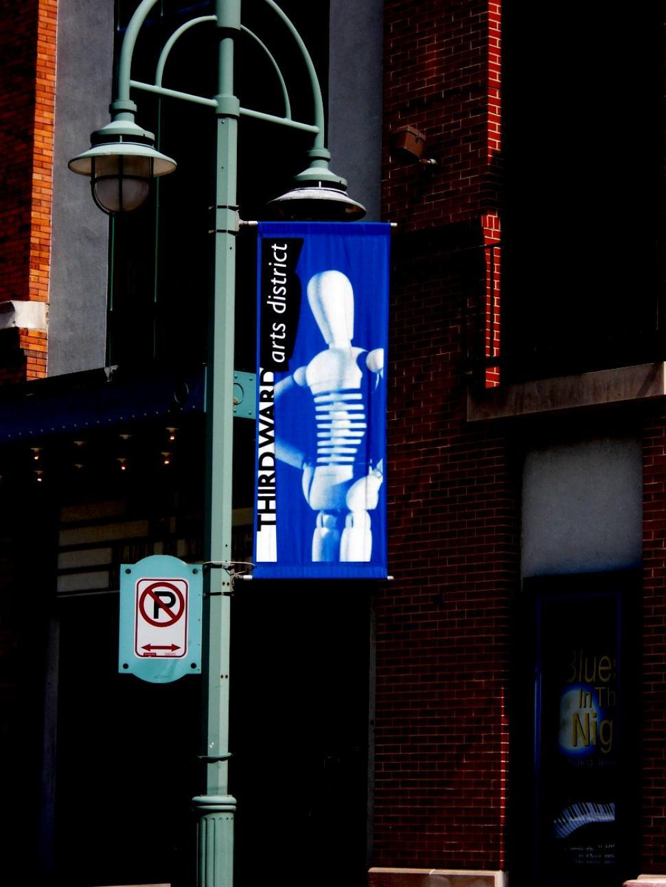 Download Free Stock HD Photo of Milwaukee - Third Ward Banner Online