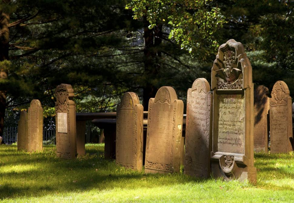 Download Free Stock HD Photo of Tombstones  Online