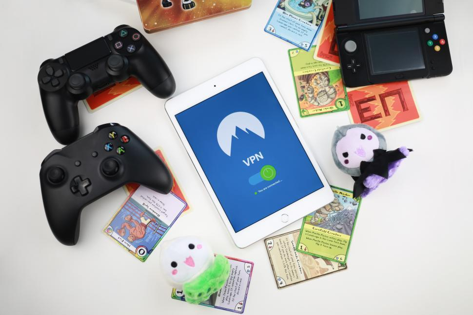 Download Free Stock Photo of Play safe with VPN