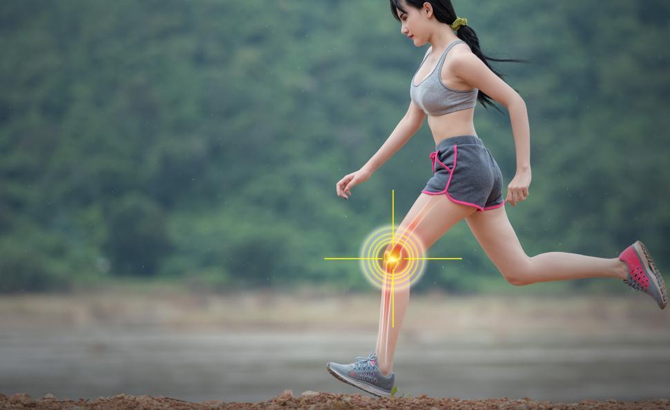 Download Free Stock HD Photo of Joint Trauma - Knee Trauma - Sports Injury Online