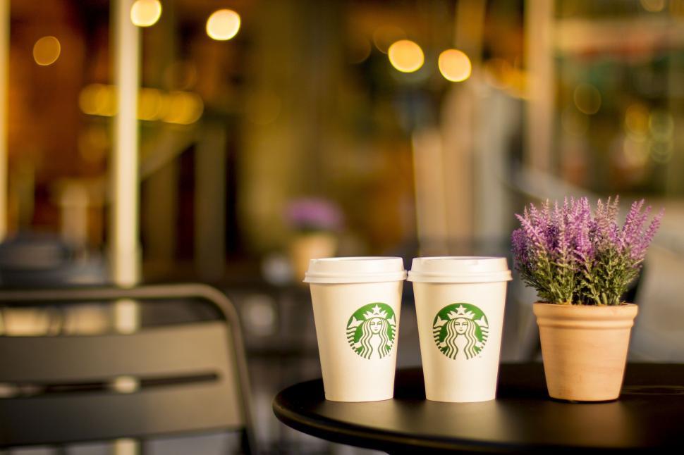 Download Free Stock Photo of Starbucks Coffee