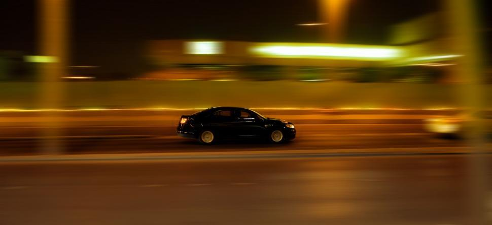 Download Free Stock HD Photo of Fast Moving Car on Road  Online