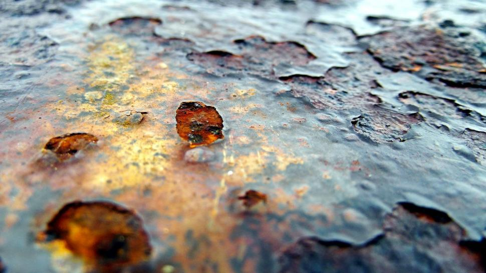 Download Free Stock Photo of Rust on Iron
