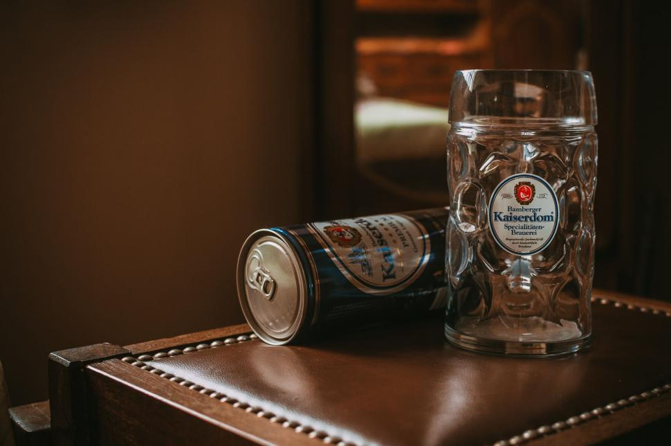Download Free Stock Photo of Kaiserdom Beer and Glass
