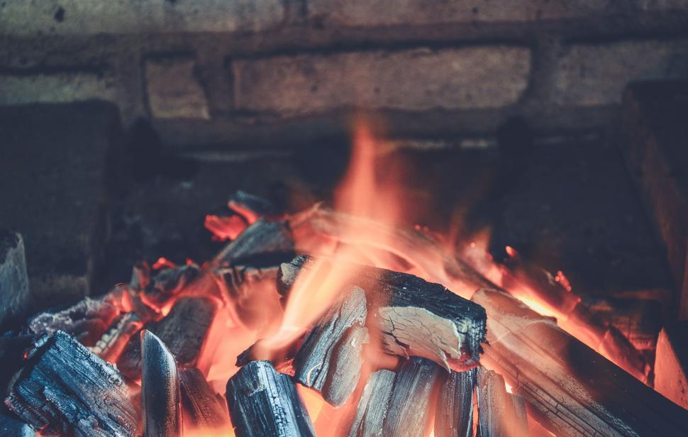 Download Free Stock Photo of Barbecue Fire