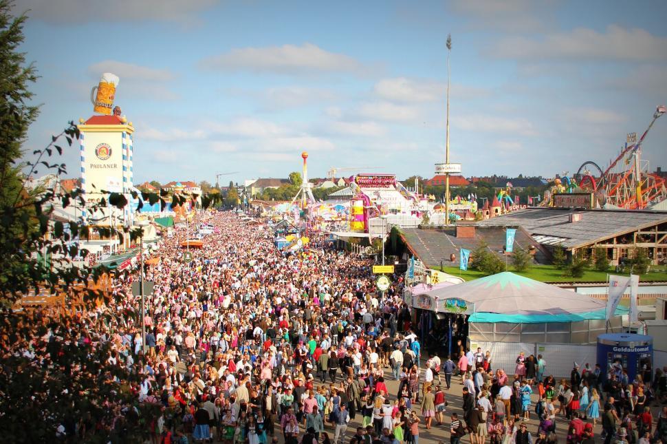 Download Free Stock Photo of  Oktoberfest fair