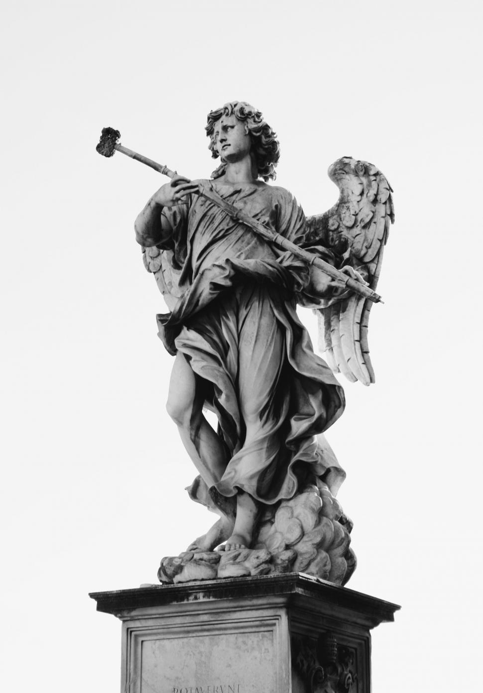 Download Free Stock Photo of Angel with hammer